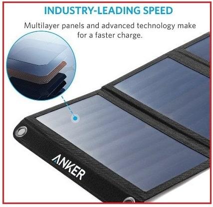 Anker Power port Solar for iPhone SE 2016