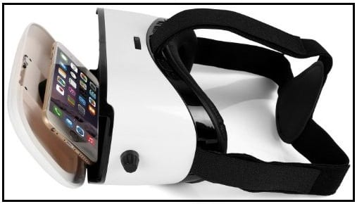 Virtual reality headset 3D for iPhone SE, 2016 iPhone 6 Plus