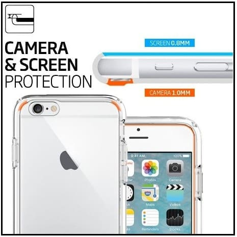 iPhone 6S/6 transparent Crystal clear case Best iPhone 6S Cases 2017