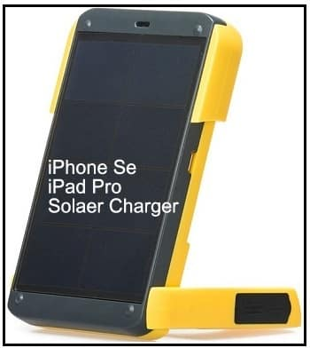 Best Solar Power Charger for iPhone SE under dollar 60