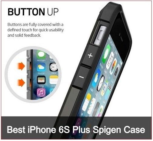 best iPhone 6S Plus Spigen Case heavy duty Kickstand Case