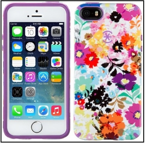 flower iPhone SE case for Women and girls