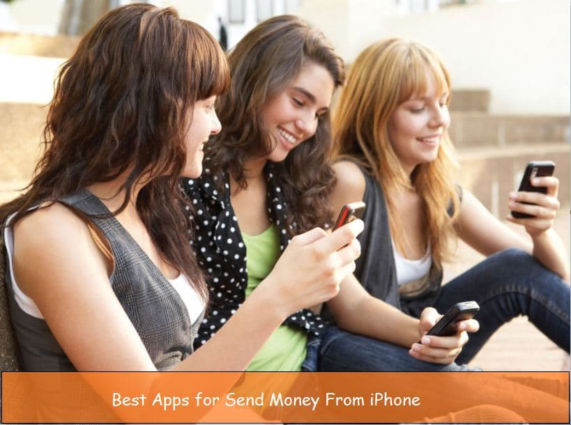 Best apps for send money from iPhone iOS app