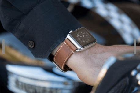 Heritage Leather Apple Watch Bands from italian Leather