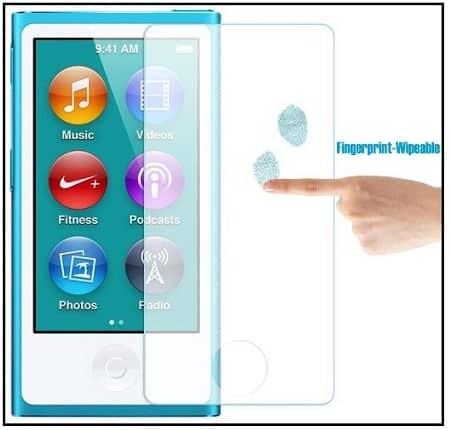 Glass Screen protector for iPod Nano 7th Gen