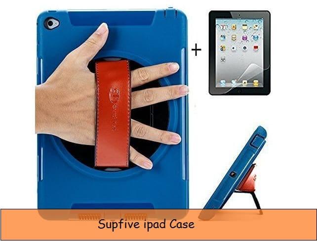 Leather strap iPad case