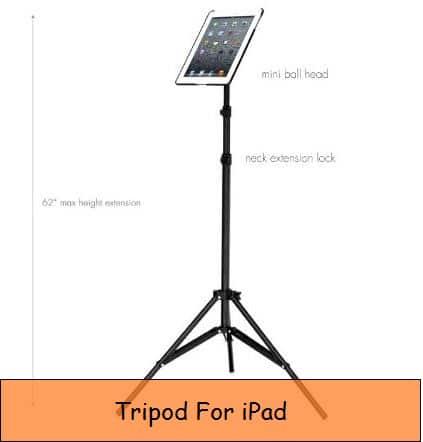 Tripod Stand for iPad