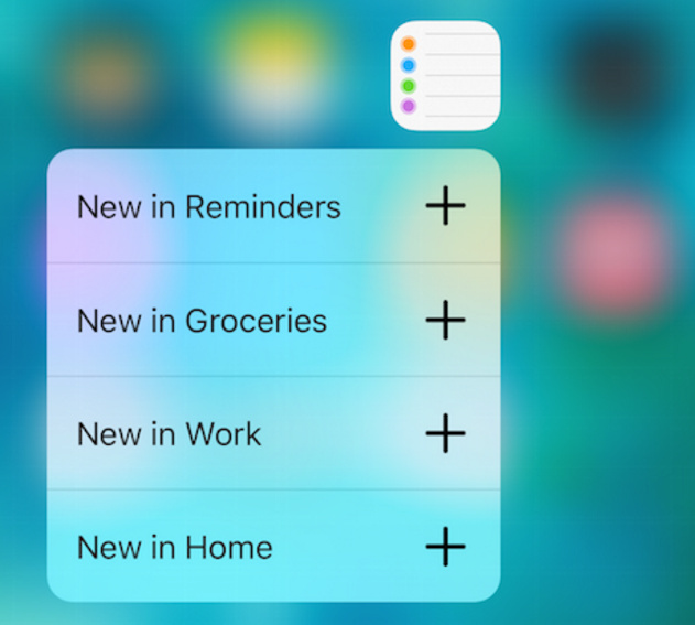 reminder apps on iOS 10