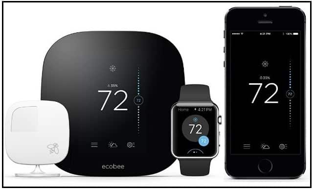 Ecobee3 Apple homekit enabled smart Wi-Fi Thermostat