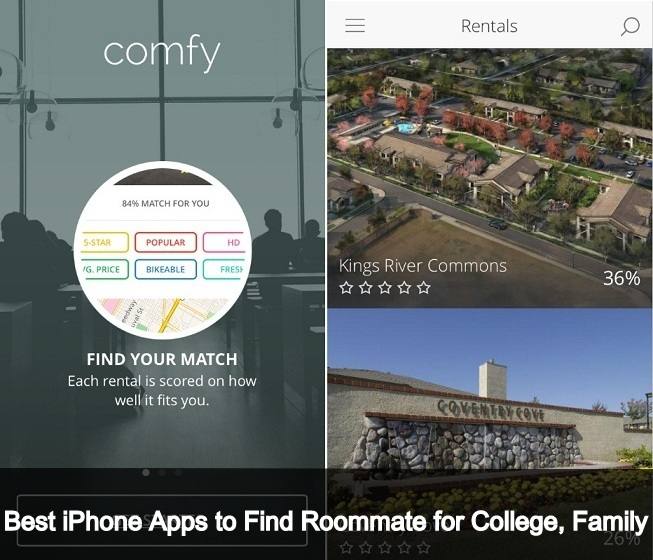 the Best iPhone Apps to Find Roommate for College 2016