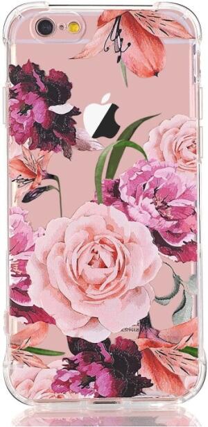 Floral Pattern iPhone SE Case