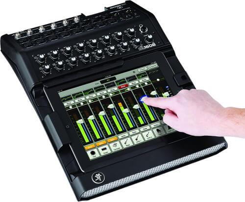 Mackie iPad Controlled Digital Sound Mixer