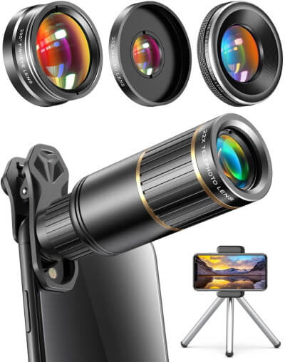Telescope for iPhone Camera by CoPedvic