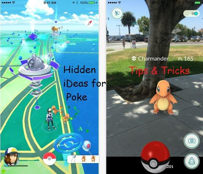 Pokémon go tips for iPhone, iPad, iPad Touch tricks