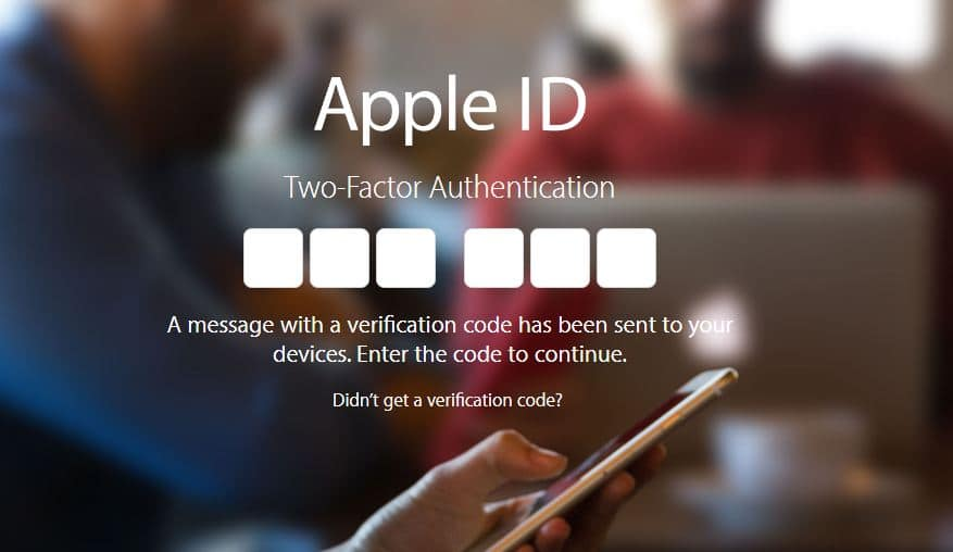 Setup two-Factor Authentication on Apple ID for unknown browser