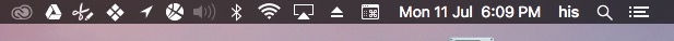 Remove siri icon from menu bar
