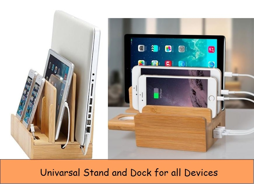 Universal Docking stand for all devices