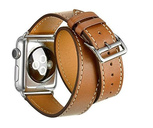 Double tour Luxury Genuine Leather band