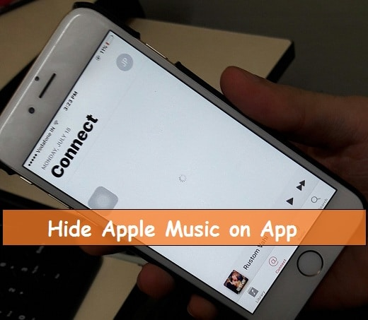 Hide Apple Music songs in iPhone or Remove from Music app