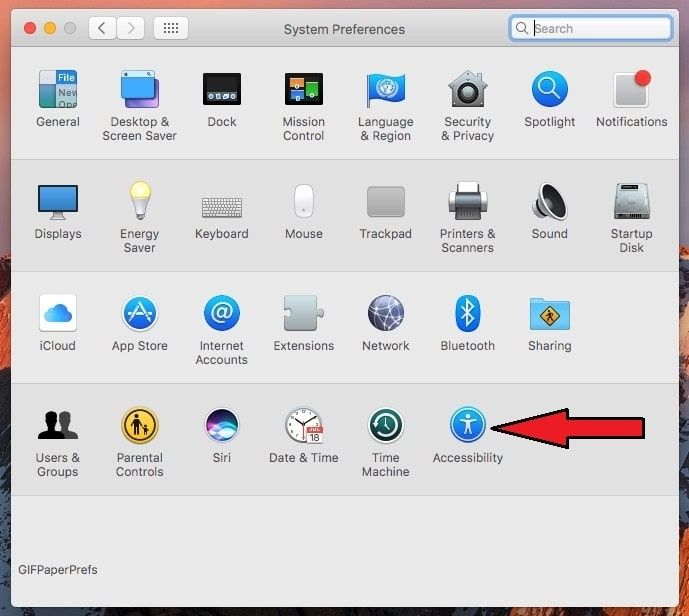 Click on Accessibility under system preferences for enable hands free Siri