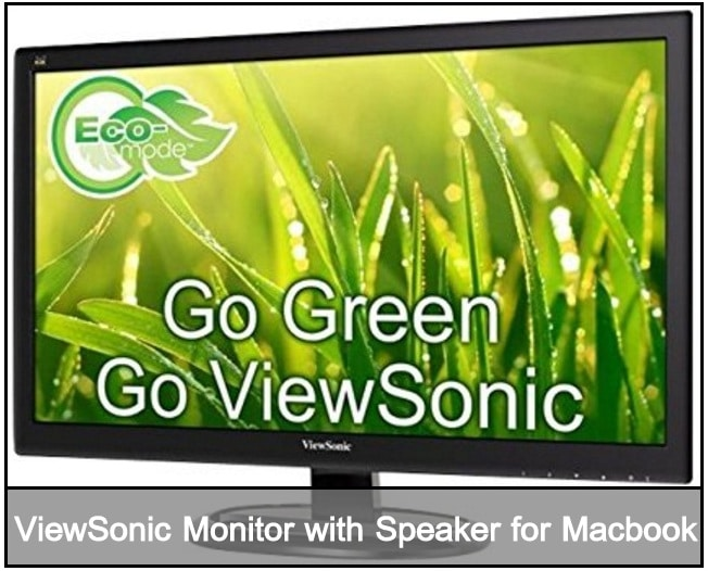 ViewSonic extrenal Monitor for macbook pro macbook Air