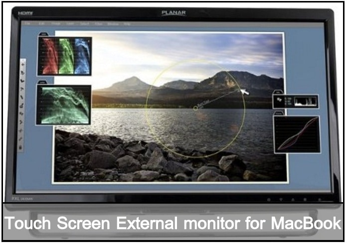 Touch Screen external Monitor for macbook