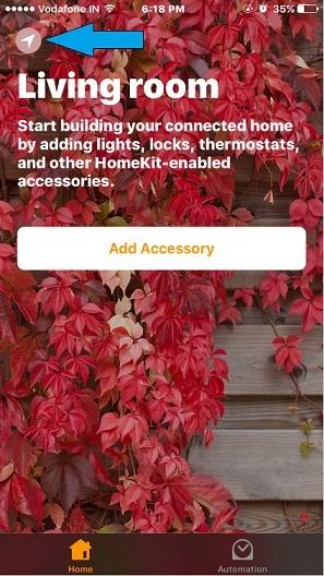 add a house in iOS 10 Home app