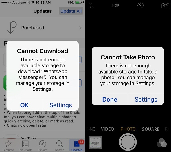 iPhone Cannot Download App iOS 10