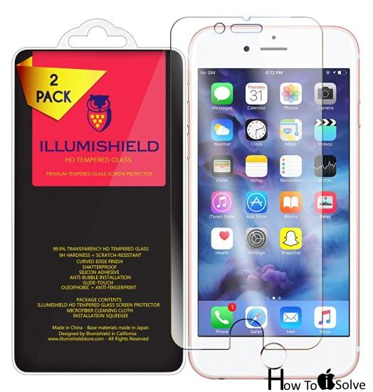 ILLUMISHIELD Best iPhone 7 plus Screen protectors