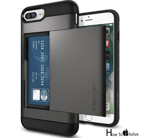 Spigen iPhone 7 Plus pocket case for card