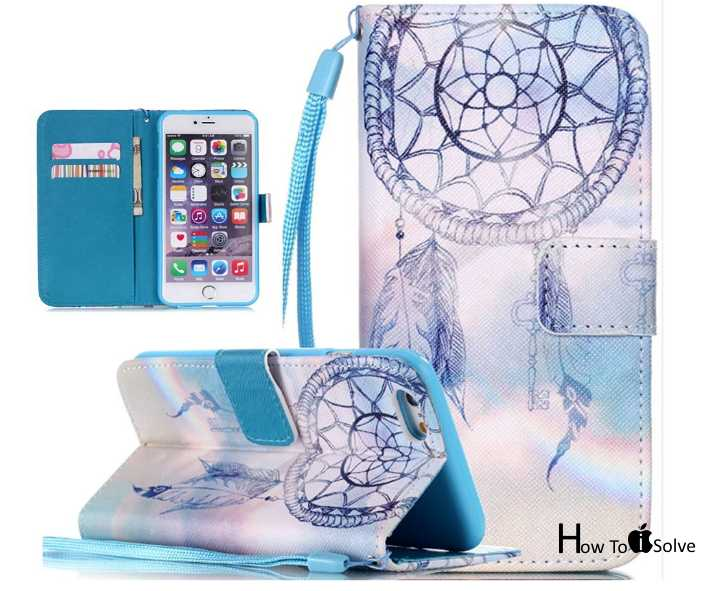 iPhone 7 Plus printed case for Wallet or Card slot case