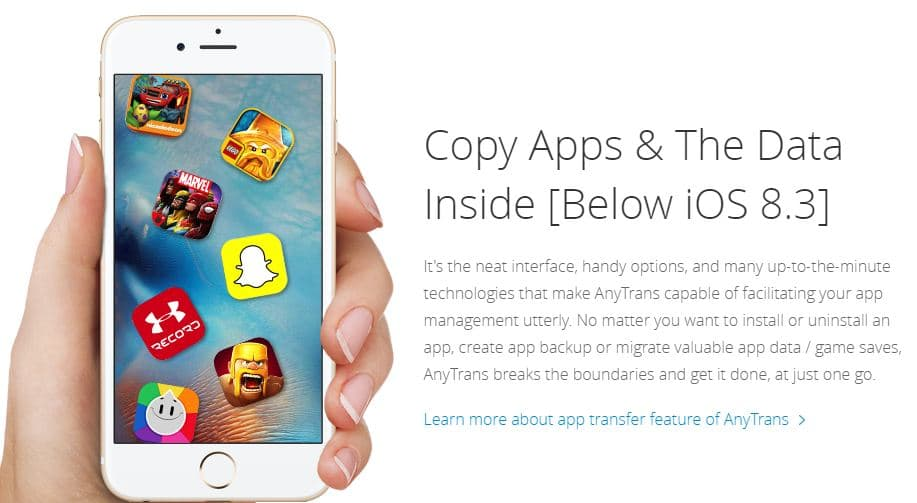iMobie iOS file manager