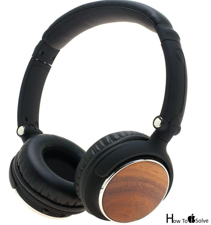 Wooden Headset for iPhone 7