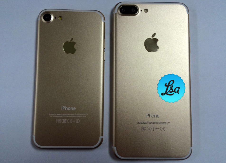 Apple iPhone 7 leaked images