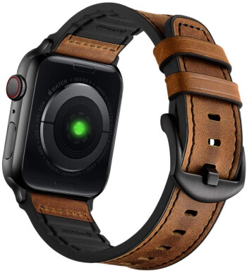 Best Apple iWatch leather band 42mm Size