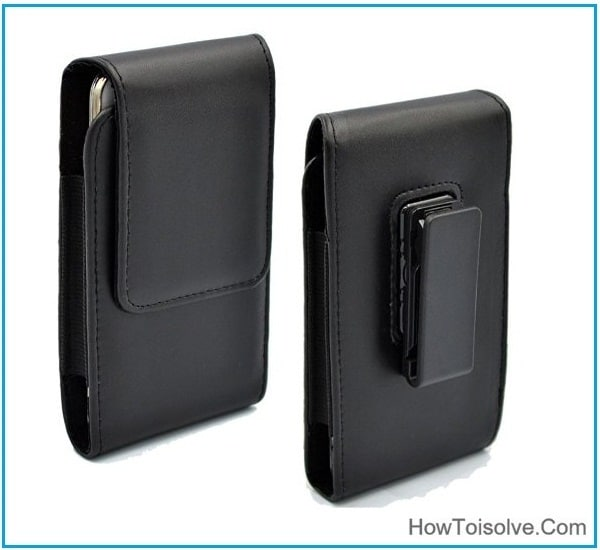 Best iPhone 7 Plus holster leather Case