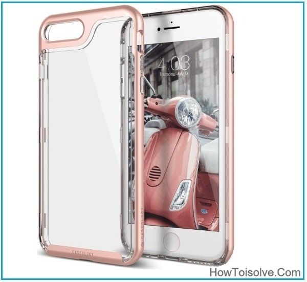The Best Clear case for iPhone 7 Plus 5.5inch Transparent Clear