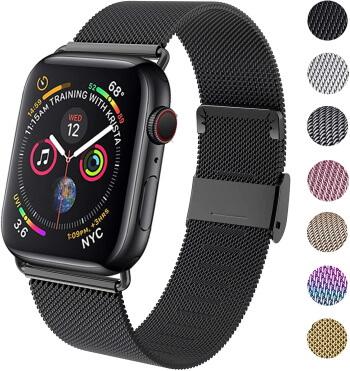 Clasp Mesh Loop Milanese bracelet for Apple Watch 42mm