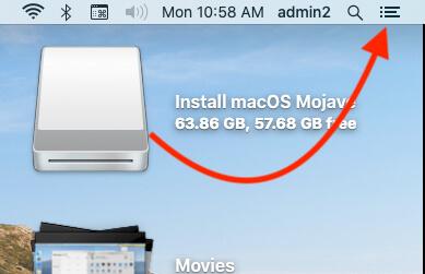 Open Today Widget Notification on Mac MacBook