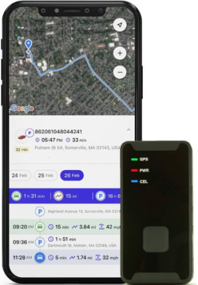 PRIMETRACKING GPS Tracker for iPad in 2020