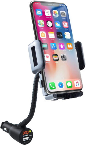 SOAIY Car charger and mount holder