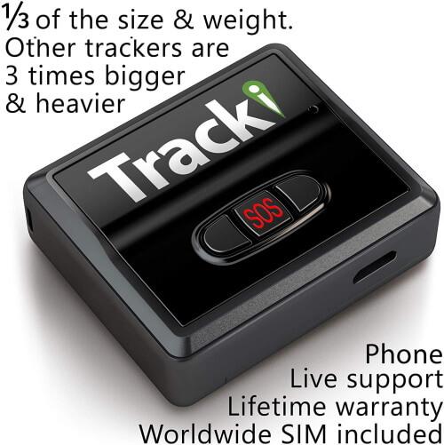 Tracki 2020 Model Mini Real time GPS Tracker