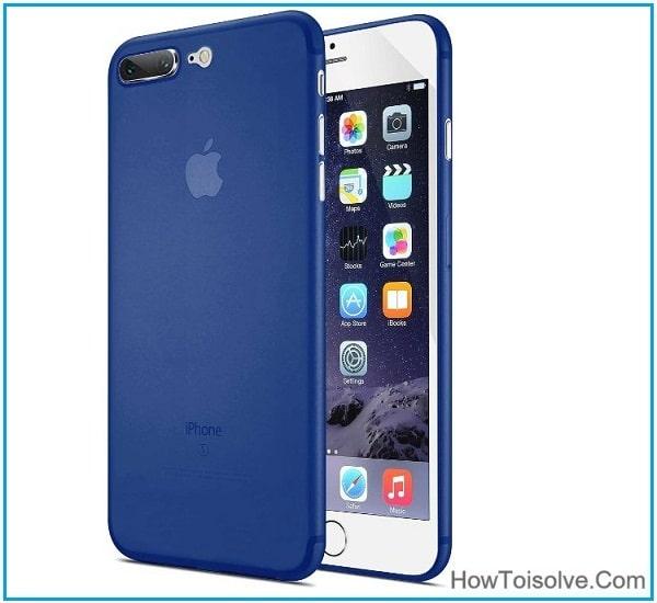 Tozo iPhone 7 Pro Bumper Case