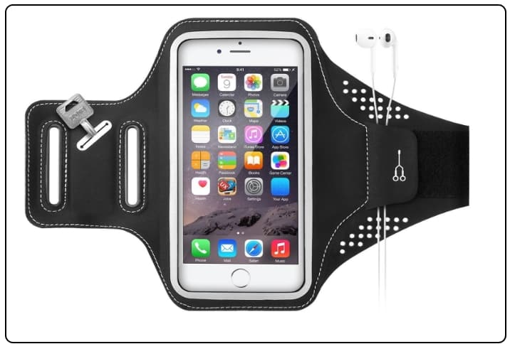 5 Ultrathin Lightweight Armband for iPhone 7 plus