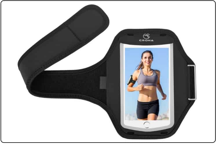 9 CRONA Sports Armband for iPhone 7 plus