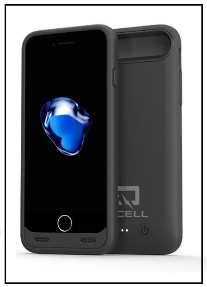 QCell Battery charging Case for iPhone 7