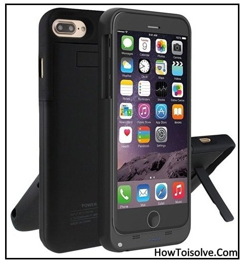 Best iPhone 7 Plus battery Case with kickstand feature 2016