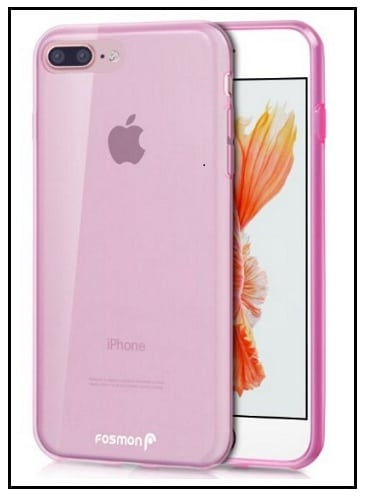 ultra slim glossy clear case for iphone 7 plus