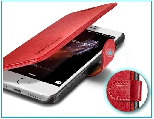 Professional Leather Wallet Case for iPhone 7