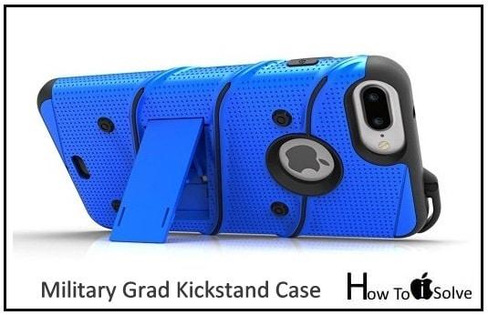 zizo best iphone 7 plus military grade kickstand case 2016